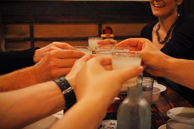 Lychee cocktail cheers!